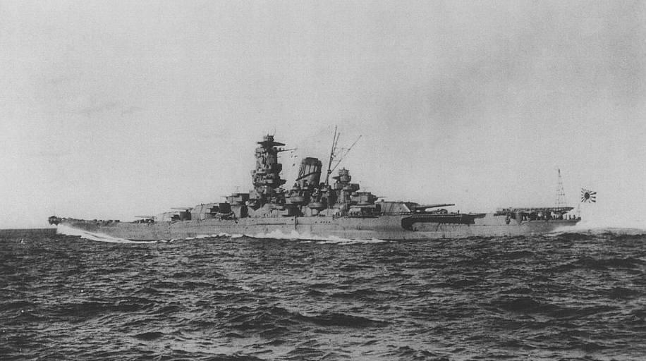 戦艦「大和」画像